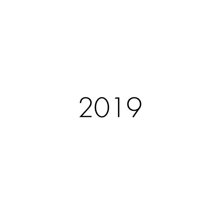 2019年 制作パートナー実績(10月更新)